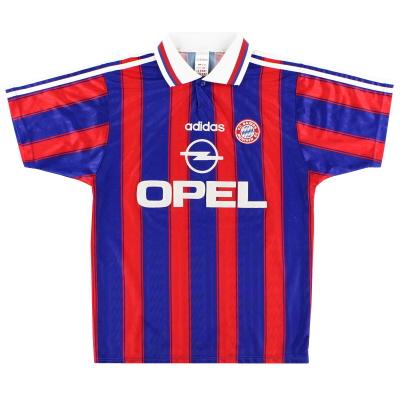 1995-97 Bayern Munich adidas Home Shirt L