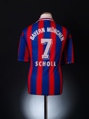1995-97 Bayern Munich Home Shirt Scholl #7 XXL