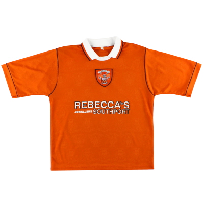 1995-97 Blackpool Pool Pro-Wear Home Shirt M