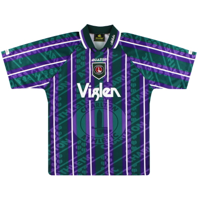 1995-97 Charlton Quaser Third Shirt L