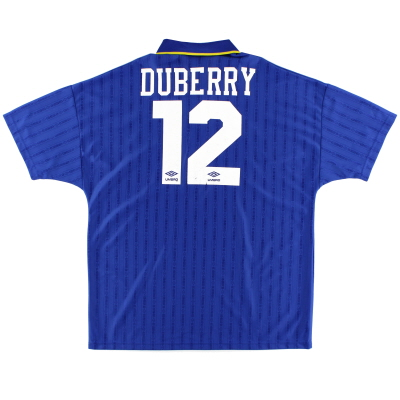 1995-97 Chelsea Home Shirt Duberry #12 XL
