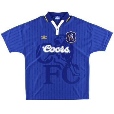 1995-97 Chelsea Umbro Home Shirt M.Boys
