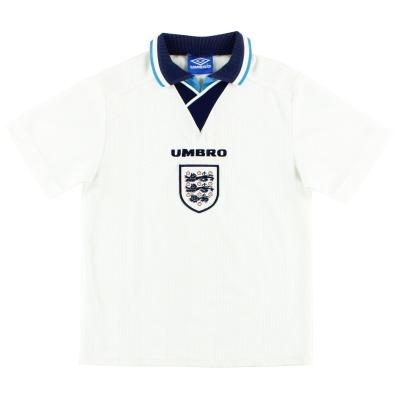 1995-97 England Home Shirt XL