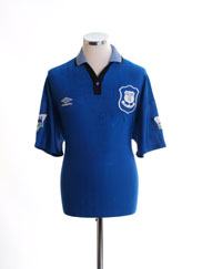 1995-97 Everton Home Shirt L