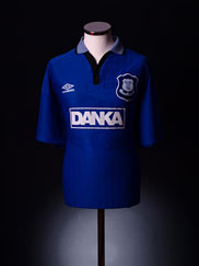 1995-97 Everton Home Shirt XXL