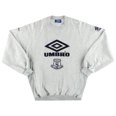 1995-97 Everton Umbro Sweatshirt XL