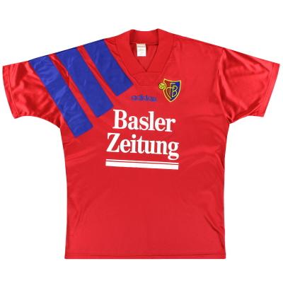 1995-97 FC Basel adidas Home Shirt L