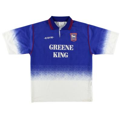 1995-97 Ipswich Home Shirt S