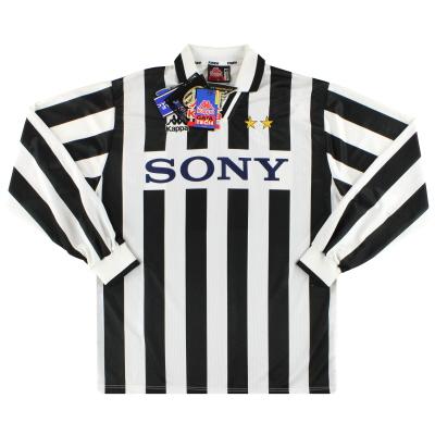 1995-97 Juventus Kappa Home Shirt L/S #9 *w/tags* XL