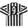 1995-97 Juventus Kappa Home Shirt L/S #9 *w/tags* XL