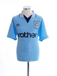 1995-97 Manchester City Home Shirt