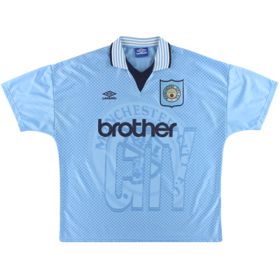 1995-97 Manchester City Umbro Home Shirt XXL