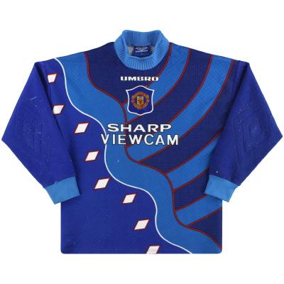 1995-97 Manchester United Umbro Goalkeeper Shirt M