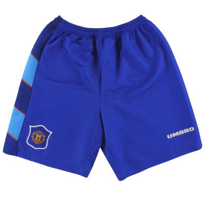 1995-97 Manchester United Umbro Goalkeeper Shorts XL