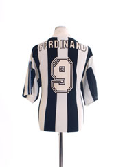1995-97 Newcastle Home Shirt Ferdinand #9 XL
