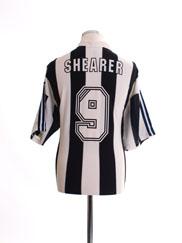 1995-97 Newcastle Home Shirt Shearer #9 XL