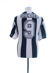1995-97 Newcastle Home Shirt Shearer #9 L