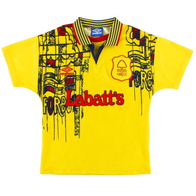 1995-97 Nottingham Forest Away Shirt Y