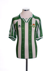 1995-97 Real Betis Home Shirt L
