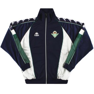 1995-97 Real Betis Kappa Track Jacket XL