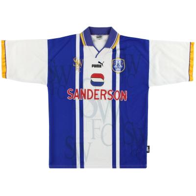 1995-97 Sheffield Wednesday Puma Home Shirt L
