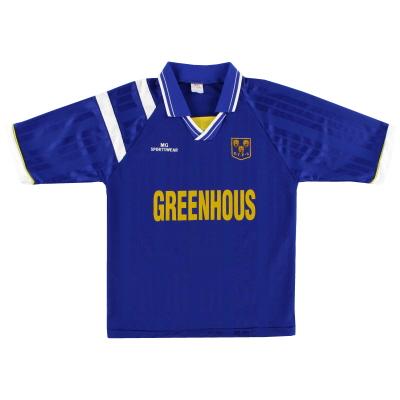 1995-97 Shrewsbury MG Sportswear Home Shirt S
