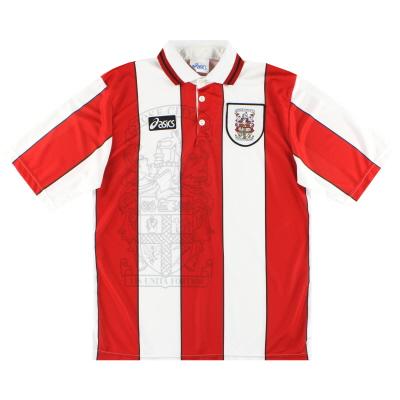 1995-97 Stoke City Asics Home Shirt L