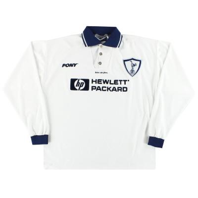 1995-97 Tottenham Pony Home Shirt L/S XL