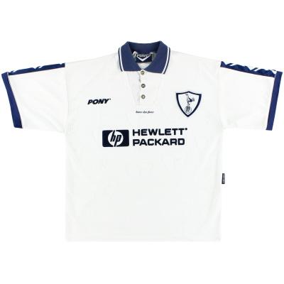 1995-97 Tottenham Pony Home Shirt L