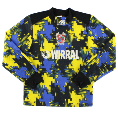 1995-97 Tranmere Rovers Mizuno Goalkeeper Shirt L.Boys