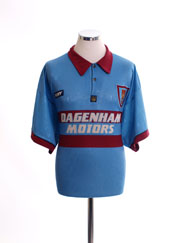 1995-97 West Ham Away Shirt XL