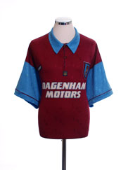 1995-97 West Ham Home Shirt XL