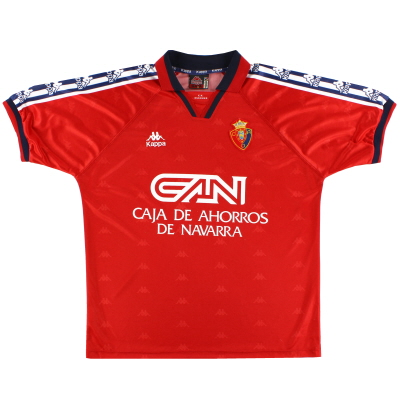 1995-98 Osasuna Home Shirt XL