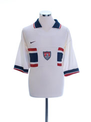 1995-98 USA Home Shirt L