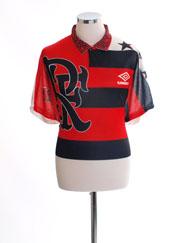 1995 Flamengo Centenary T-Shirt #11 L