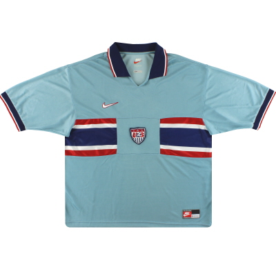 1995 USA Nike Away Shirt L