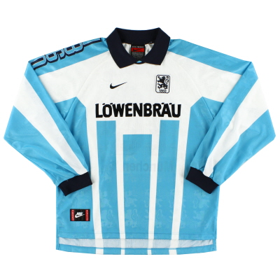 1996-97 1860 Munich Home Shirt L/S L