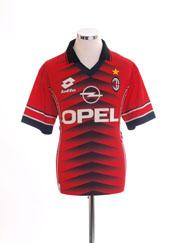1996-97 AC Milan Lotto Training Shirt M