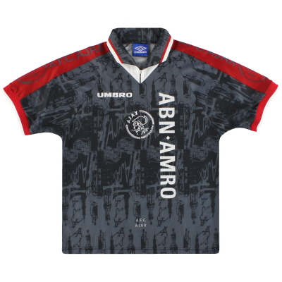 1996-97 Ajax Umbro Away Shirt *Mint* M