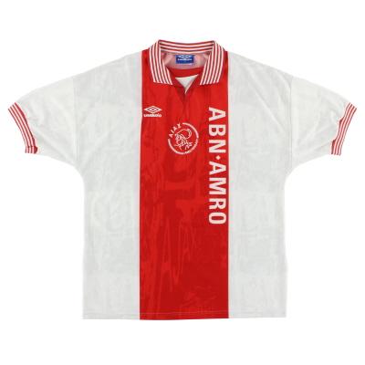 1996-97 Ajax Umbro Home Shirt L