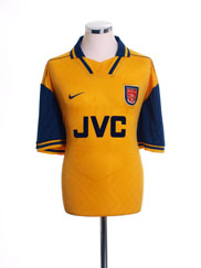 1996-97 Arsenal Away Shirt M.Boys
