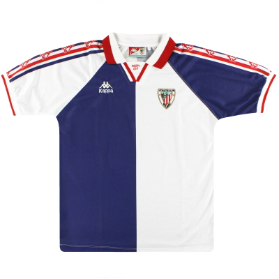 1996-97 Athleic Bilbao Kappa Away Shirt S