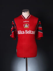 1996-97 Bayer Leverkusen Home Shirt L