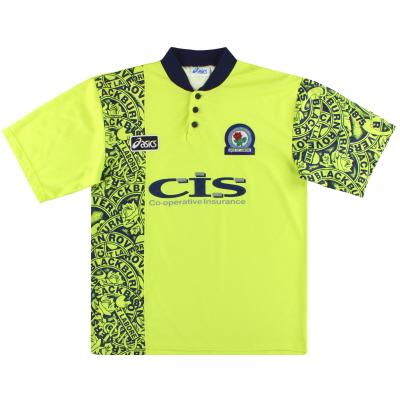 1996-97 Blackburn Asics Away Shirt L