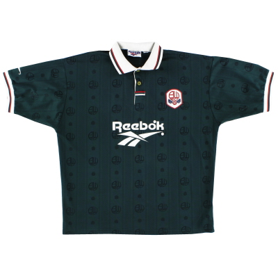 1996-97 Bolton Reebok Away Shirt *Mint* M