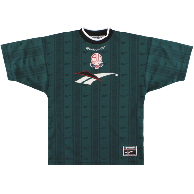 1996-97 Bolton Reebok Training Shirt Y