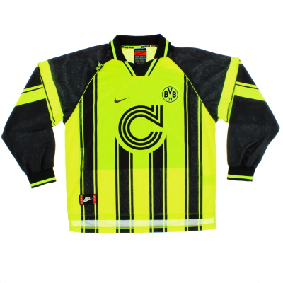 1996-97 Borussia Dortmund CL Home Shirt L/S XL