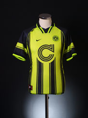 1996-97 Borussia Dortmund European Home Shirt XL.Boys