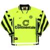 1996-97 Borussia Dortmund Home Shirt Ricken #18 L/S XXL