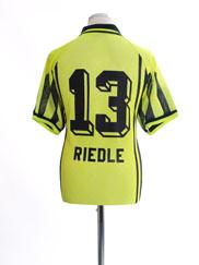 1996-97 Borussia Dortmund Home Shirt Riedle #13 L